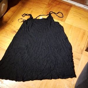 Divided Black Nighty, good condition,  Small